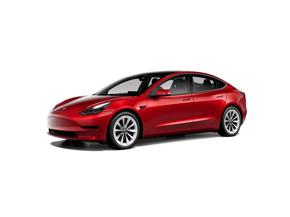 Tesla Model 3 Maximale Reichwerte