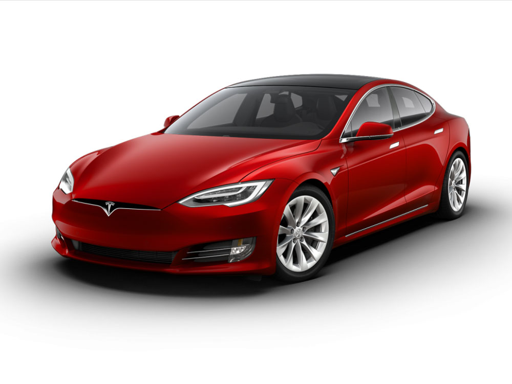 Tesla Model S Maximale Reichweite