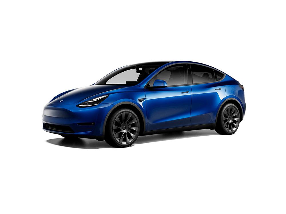 Tesla Model Y Maximale-Reichweite
