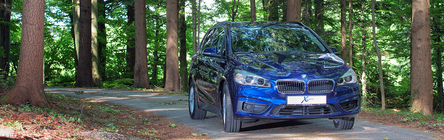 BMW 218i Active Tourer 2015 Sommer 052