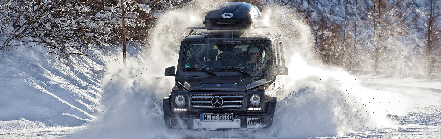 Mercedes Benz G Modell 2015 Winter 232