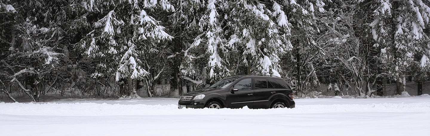 Mercedes Benz ML 2014 Winter 33