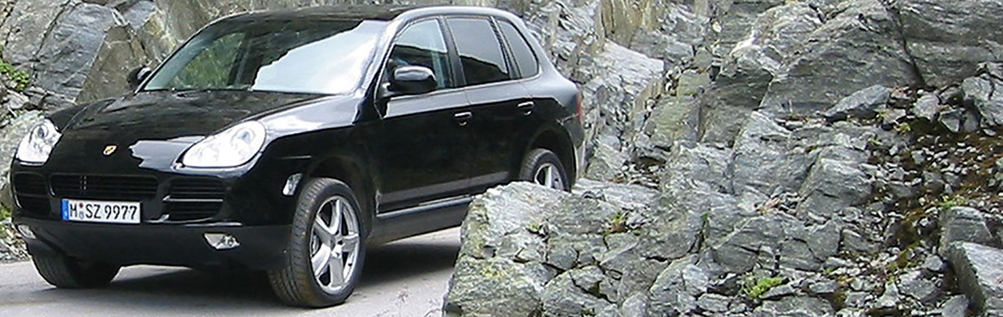 Porsche Cayenne 2005making of x edition Rocks