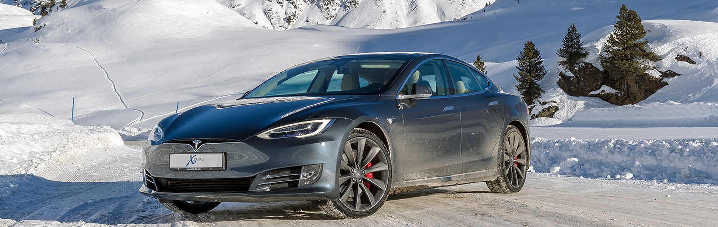 Tesla Model S Winter 3779
