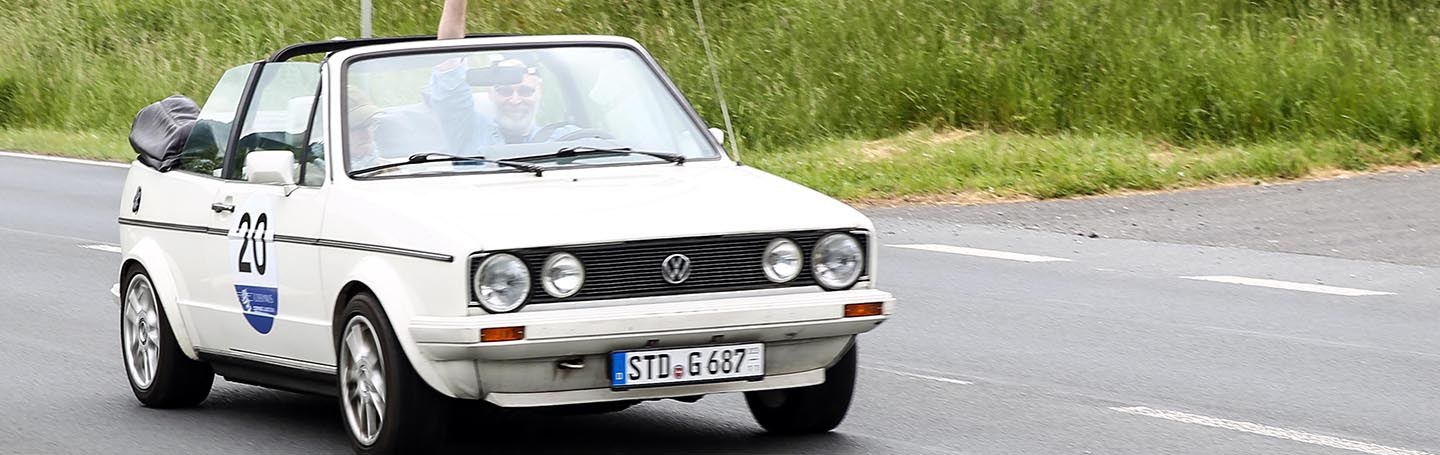 VW Golf Cabrio Youngtimer