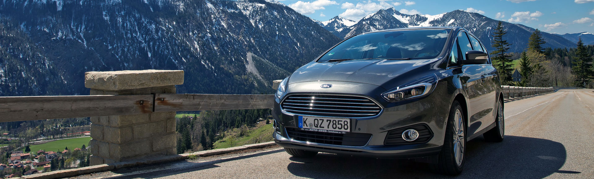 Ford S Max 2016 1444 Spring