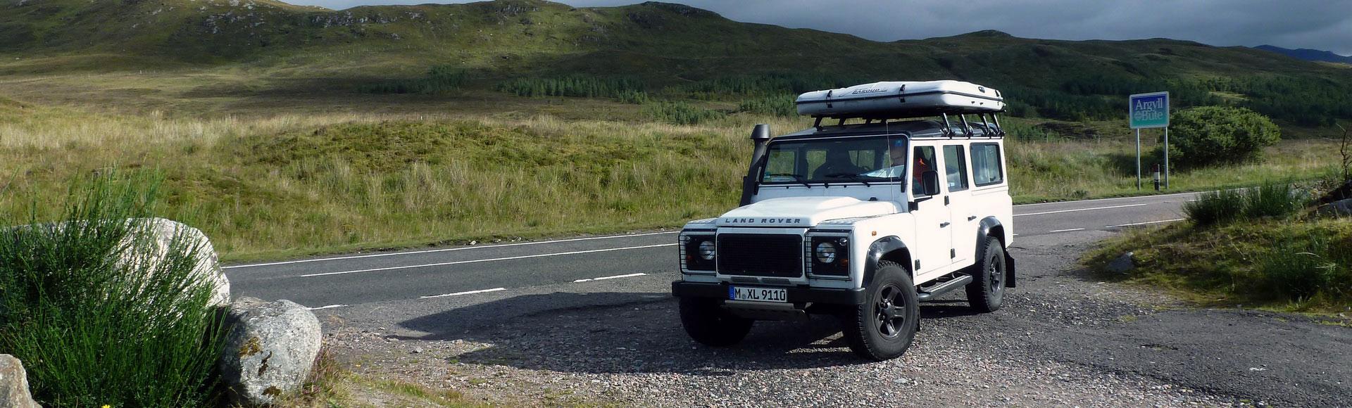 Land Rover Defender 2012 Herbst 40312