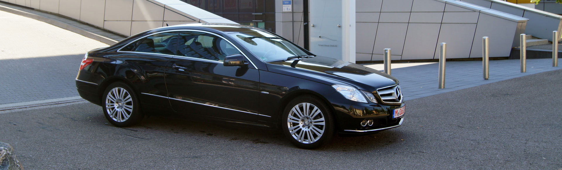 Mercedes Benz E200 Coupe 2010 Sommer 8396