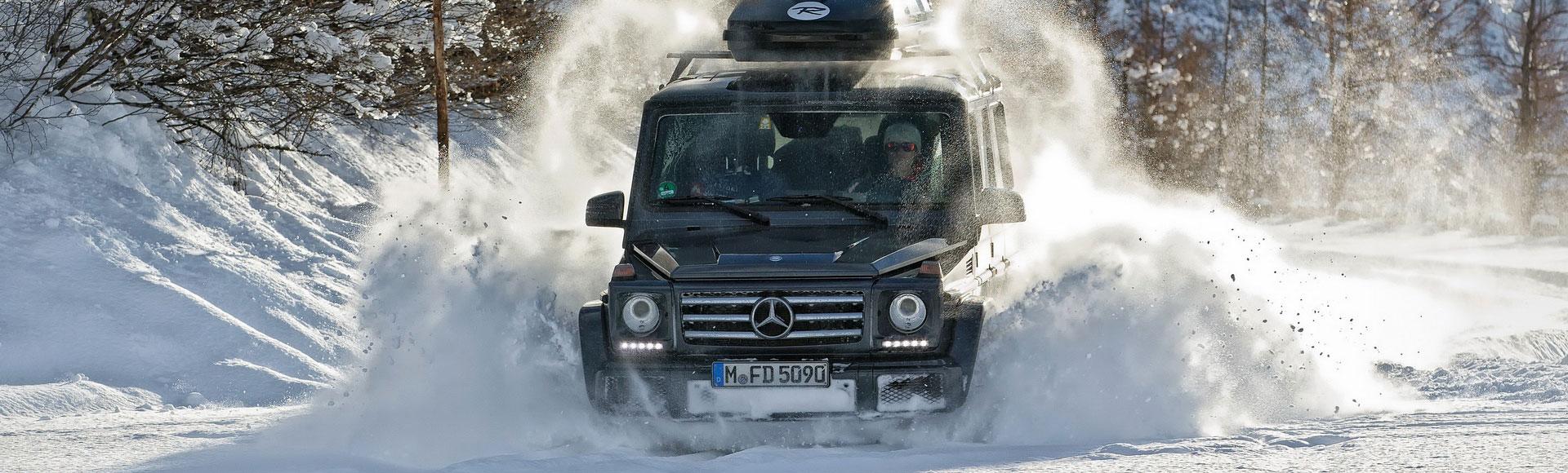 Mercedes Benz G Modell 2015 Winter 232