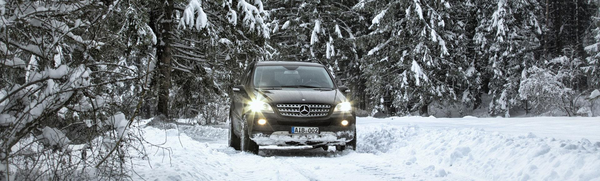 Mercedes Benz ML 2014 Winter 36