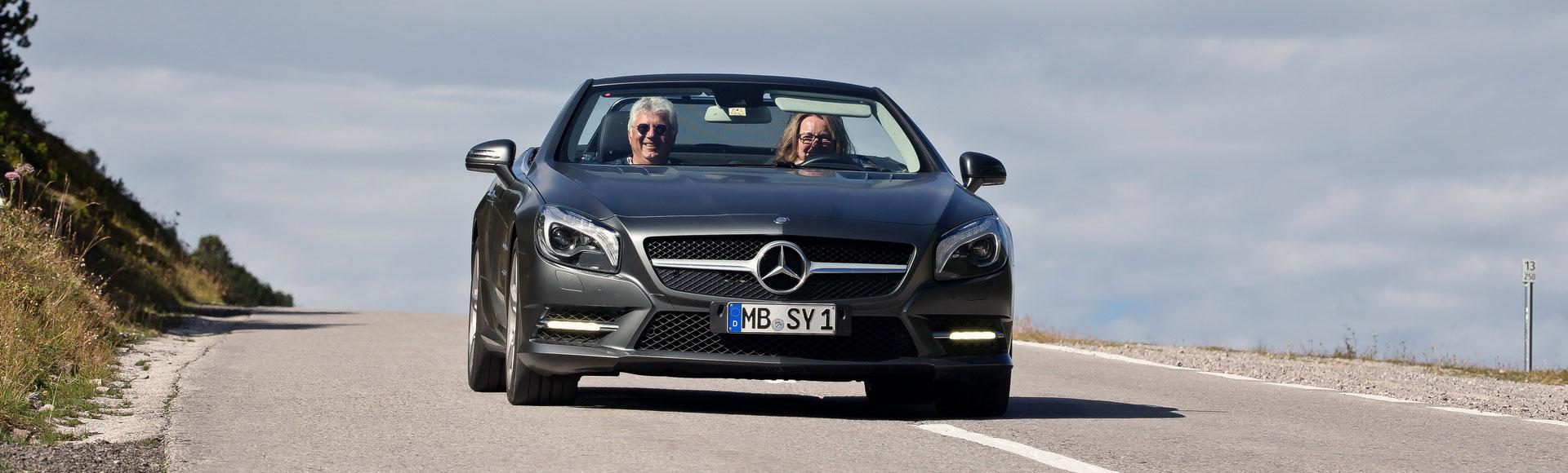 Mercedes Benz SL Cabrio 2012 0472 Sommer