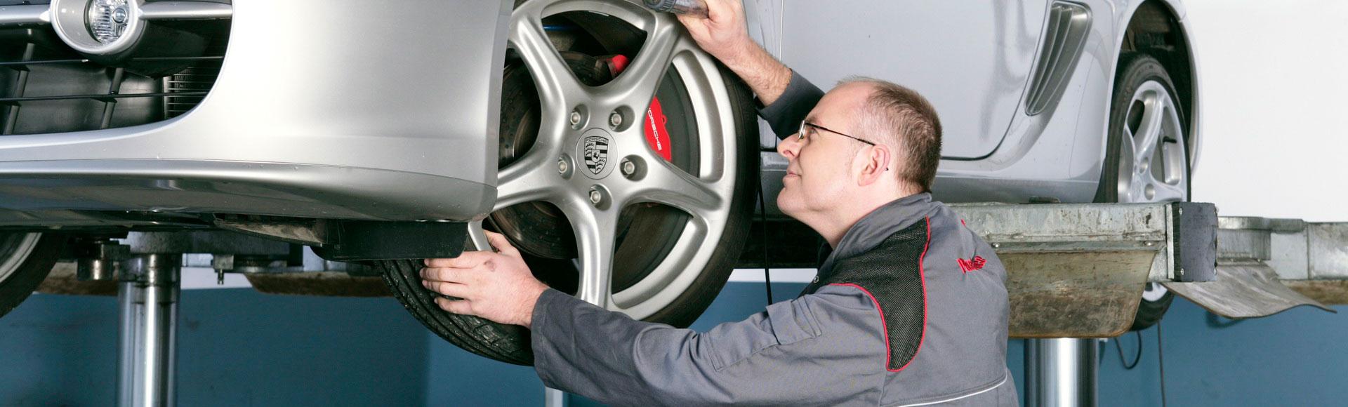 Monteur Reifen 1