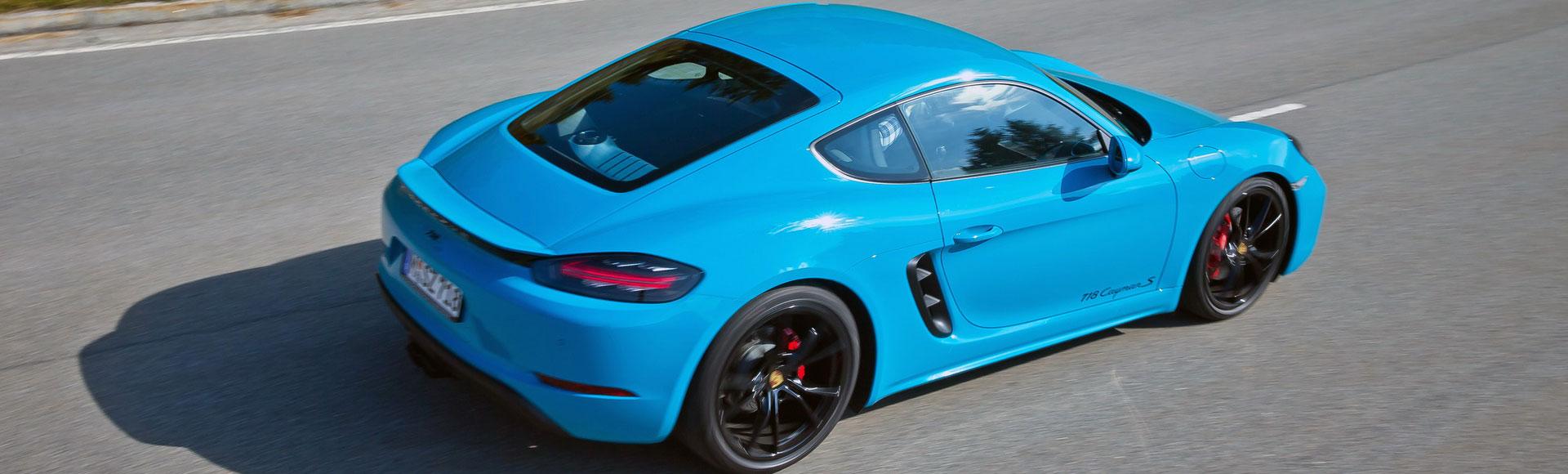 Porsche 718 Cayman 2016 365 Sommer Herbst