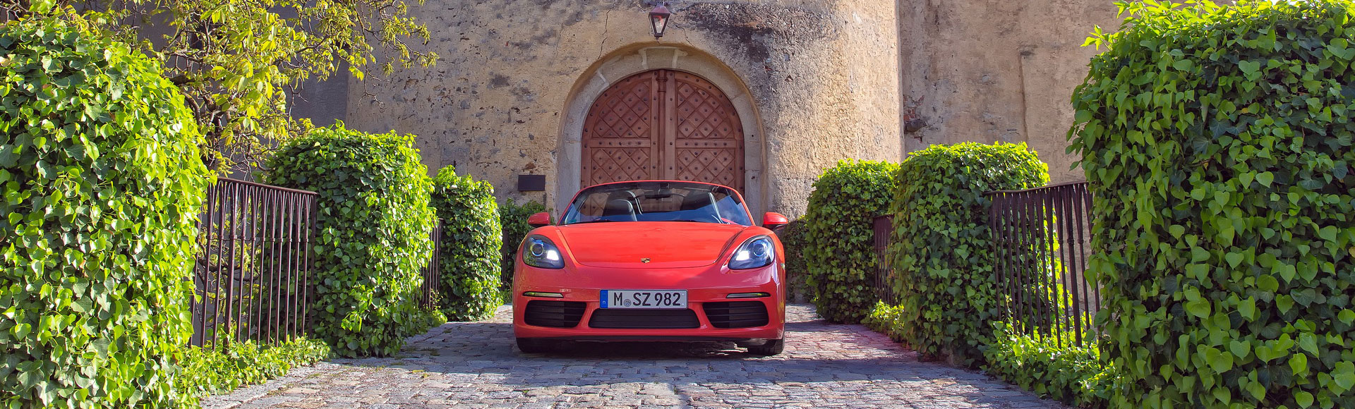 Porsche Boxster 718 2016 2410 Spring