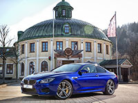 BMW M6 Coupe 2013 blau spring winter 1652