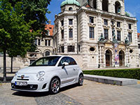Fiat Abarth 500 2012 Sommer 8070