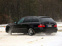 Mercedes Benz E T 2008_Winter X0635