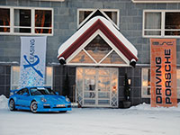 Porsche 997 GT3 Lappland Snow and Fun 2010 Winter 002