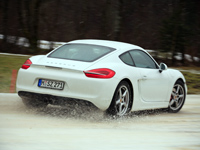 Porsche Cayman 2013 Winter_X0661