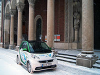 Smart Fortwo Coupe Electric Drive 2013 Winter 9311