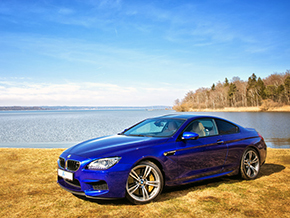 BMW M6 Coupe 2013 blau spring winter 1584