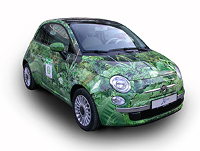 Fiat 500 Urwaldedition