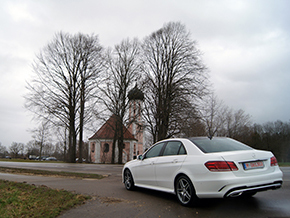 Mercedes Benz E 220 CDI AMG Sportpaket 2014 Winter 9508