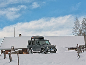 Mercedes Benz G Modell 2015 Winter 454