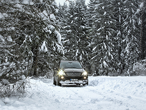 Mercedes Benz ML 2014 Winter 36