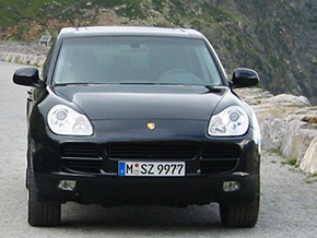 Porsche Cayenne 2005 making of x edition