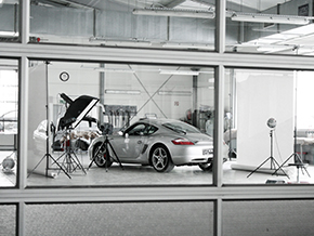 Porsche Cayman 2006 Photoshoot