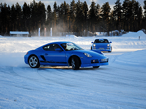 Porsche Cayman 2010 Winter 221
