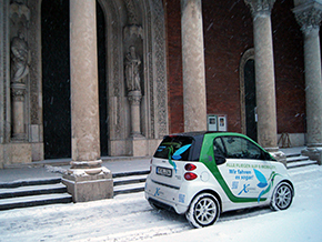 Smart Fortwo Coupe Electric Drive 2013 Winter 9307
