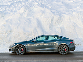 Tesla Model S Winter 3763