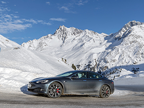 Tesla Model S Winter 3784