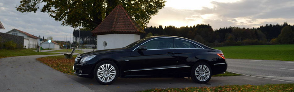 Mercedes Benz E 200 Coupe 2010 Herbst 1487