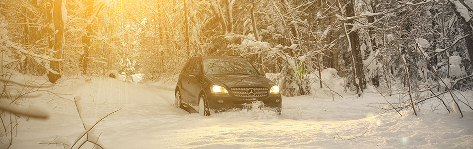 Mercedes Benz ML 2014 Winter 64