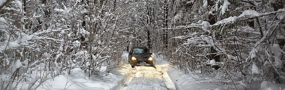 Mercedes Benz ML 2014 Winter 78