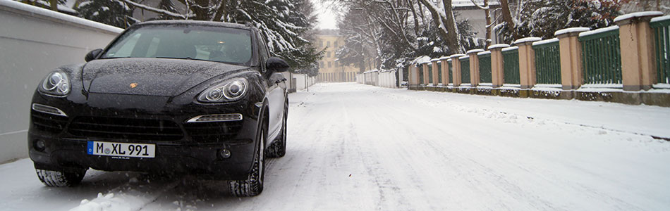 Porsche Cayenne D 2013 Winter 9278
