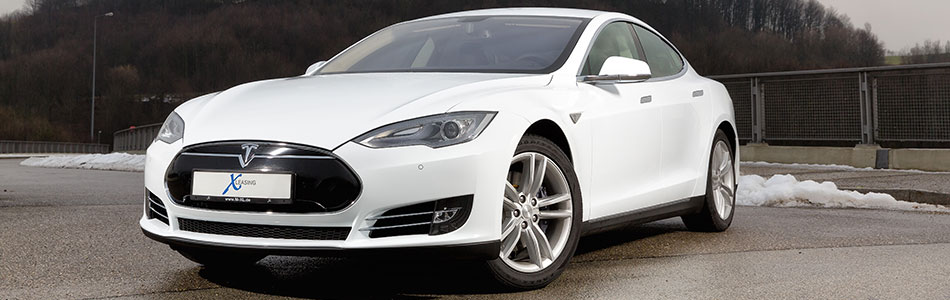 Tesla Model S 2014 Winter 93