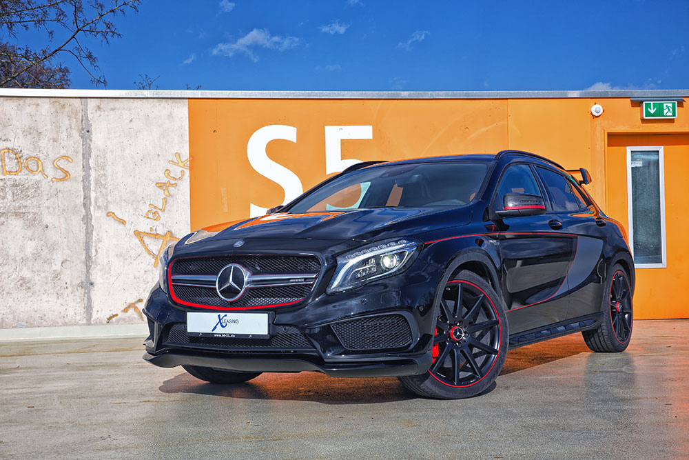 x leasing mercedes benz gla 45 amg. Black Bedroom Furniture Sets. Home Design Ideas