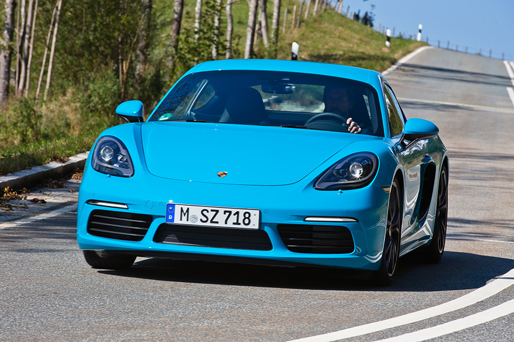fotostrecke porsche 718 cayman 2016 mit x leasing. Black Bedroom Furniture Sets. Home Design Ideas