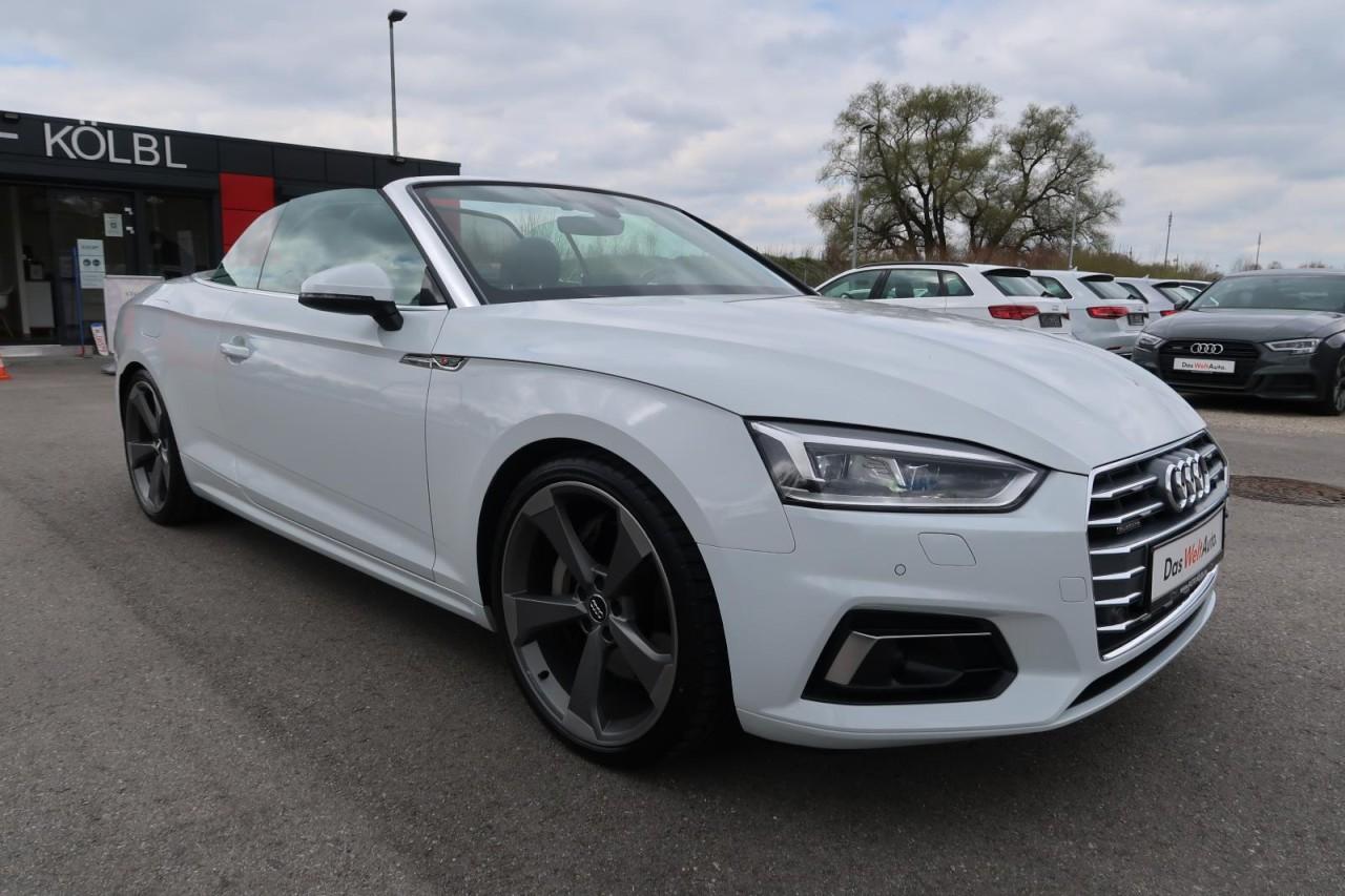 Audi A5 CABRIO 3,0 TDI QUAT. SPORTS LINE